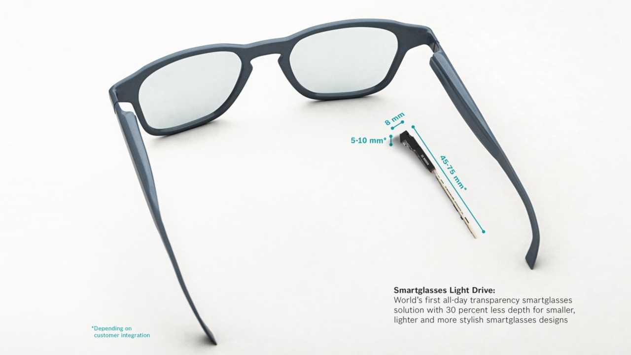 Bosch Announced Tech That Turns All Eyeglasses Into Heads-Up Devices
