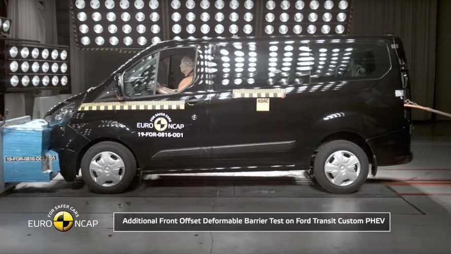 Ford Tourneo/Transit Custom Plug-in Hybrid - Euro NCAP Safety Tests (2019)