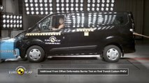Il crash test del Ford Transit Custom PHEV