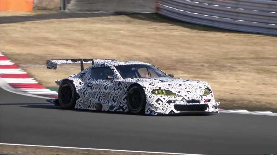 Así suena el Toyota Supra GT300 de carreras, listo para 2020