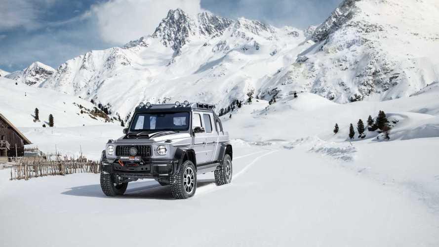BRABUS 800 Adventure XLP: un Clase G pick-up de lo más aventurero