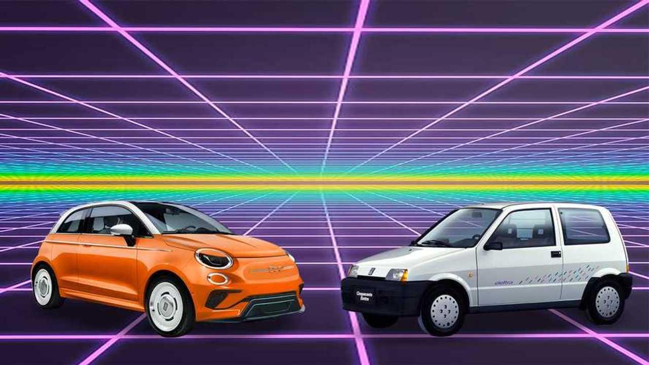 La Fiat 500 elettra prima della 500 elettrica