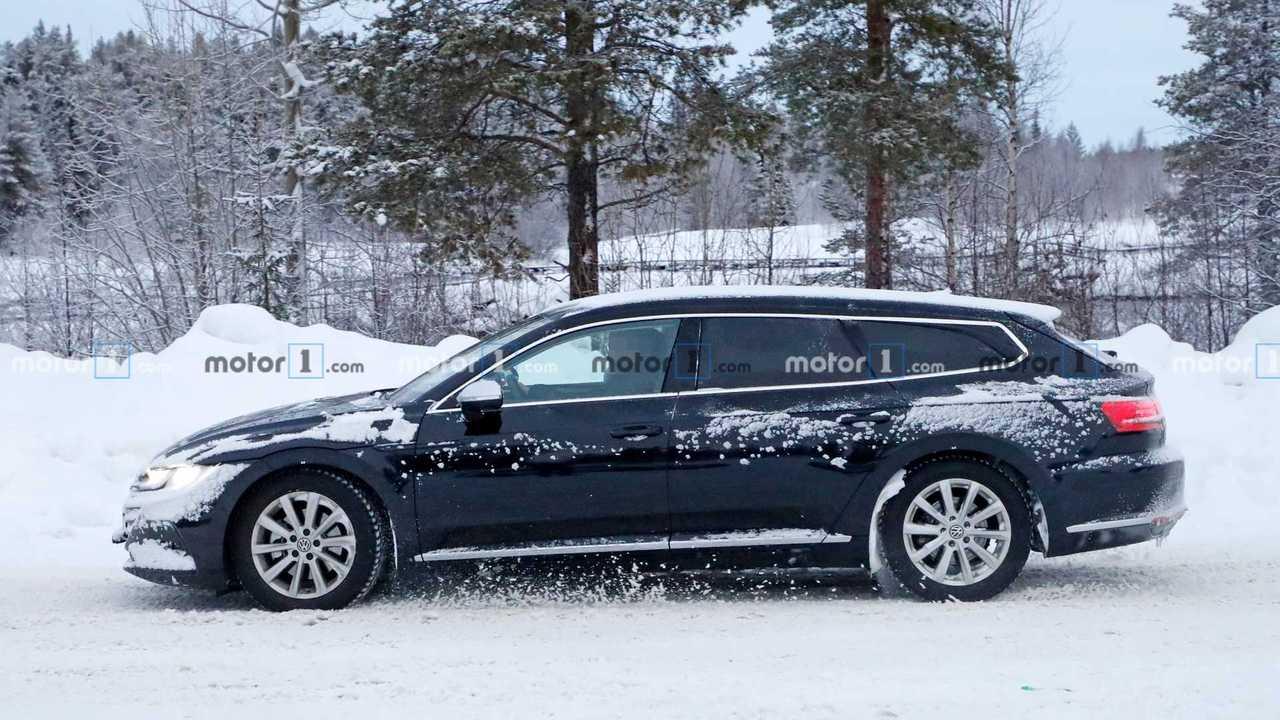 2021 VW Arteon station wagon casus fotoğraf