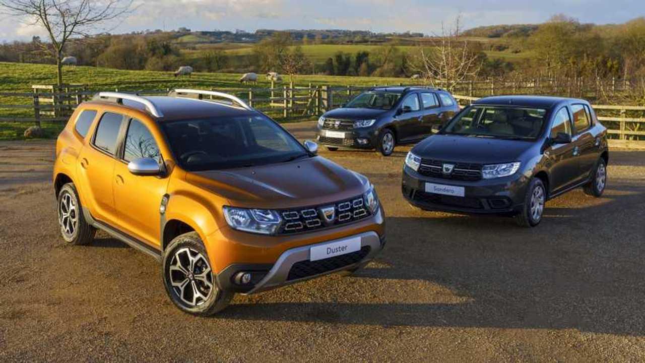 Dacia models in UK