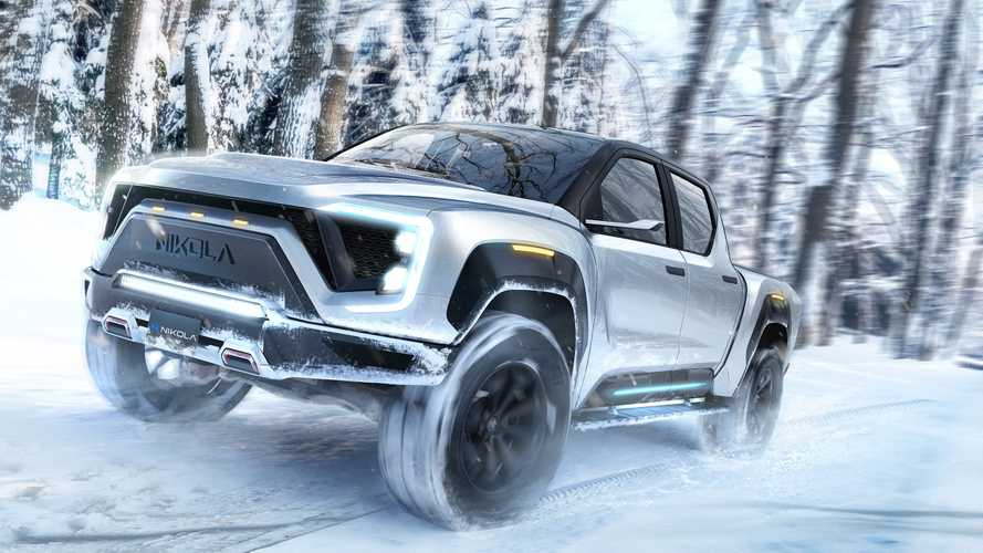 Nikola Badger Electric Pickup Truck Gets  Diesel Brothers Approval
