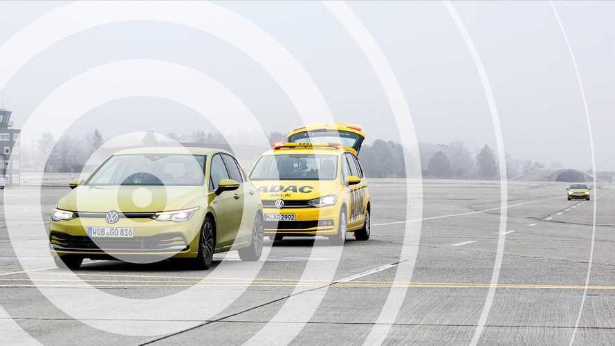 VW Golf 8: Car-to-X-Sicherheitstechnik überzeugt im Test