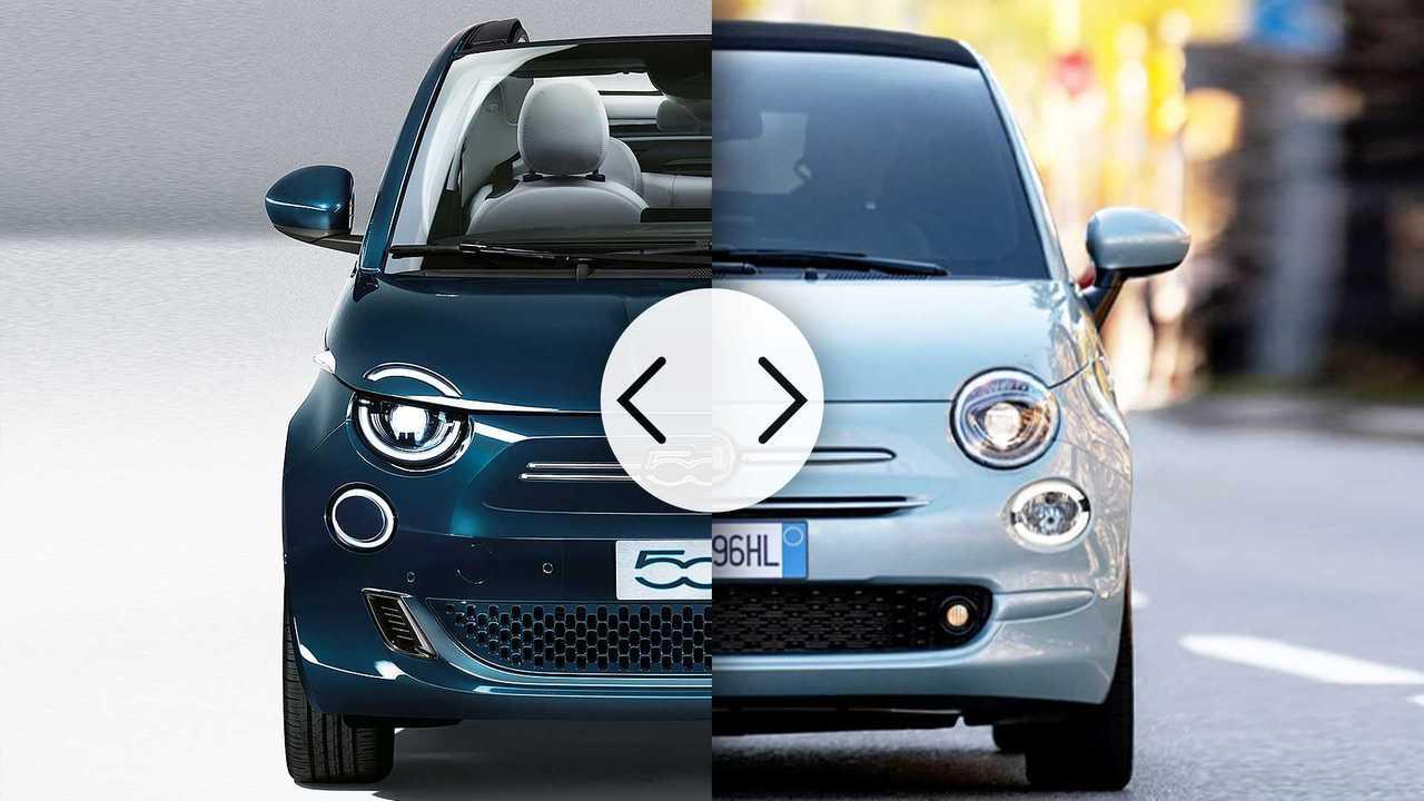 Nuova Fiat 500 elettrica vs 500 mild hybrid