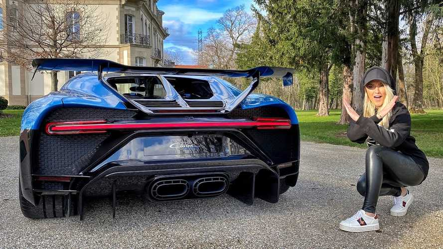 Supercar Blondie shows Bugatti Chiron Pur Sport's Star Wars connection