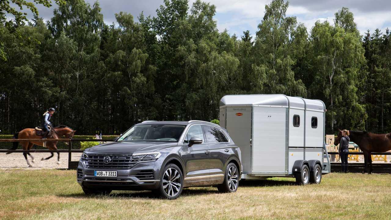 VW Touareg: 3.500 Kilo