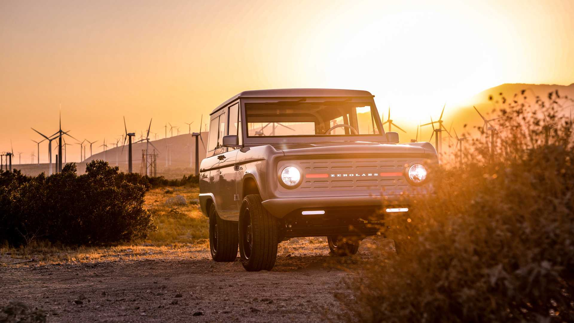 Classic Ford Bronco Converted To Electric Costs Almost 200 000