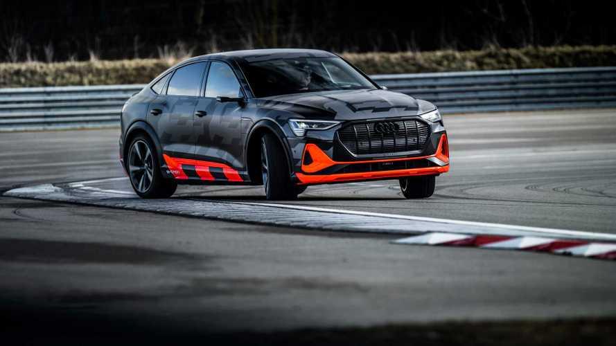 Audi e-tron S, ecco la versione più sportiva: 3 motori e oltre 500 CV
