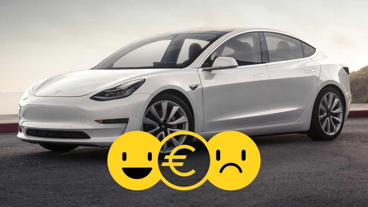 Tesla Model 3 à 455 €/mois