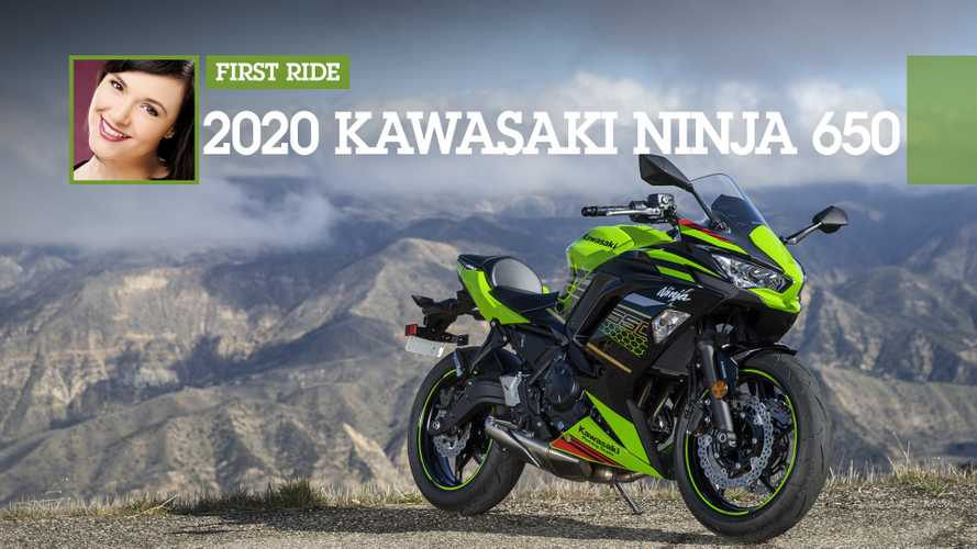 First Ride Review: 2020 Kawasaki Ninja 650 ABS KRT Edition