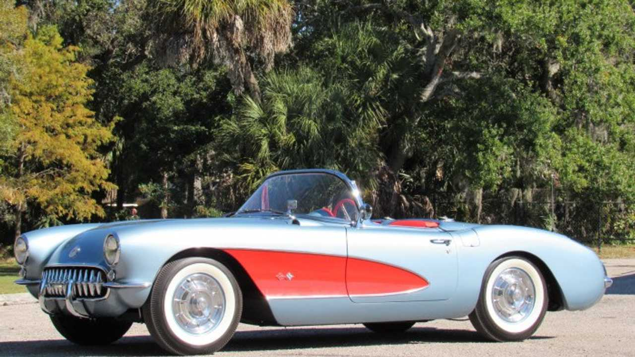 Saddle Up With This 1957 Chevy Corvette