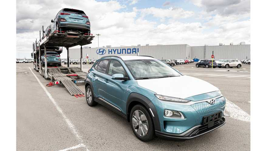 Hyundai Starts Delivery Of Kona Electric From Czechia Plant