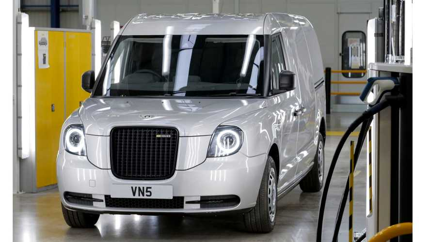New Plug-In Van From LEVC To Be Named 'VN5'