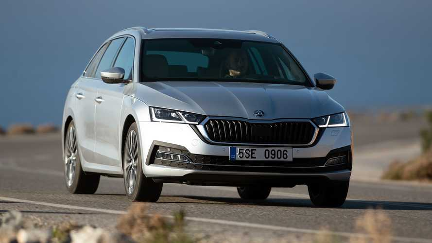 Skoda Octavia Combi (2020) On Location