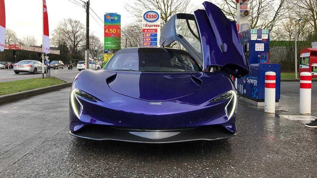 McLaren Speedtail en Belgique