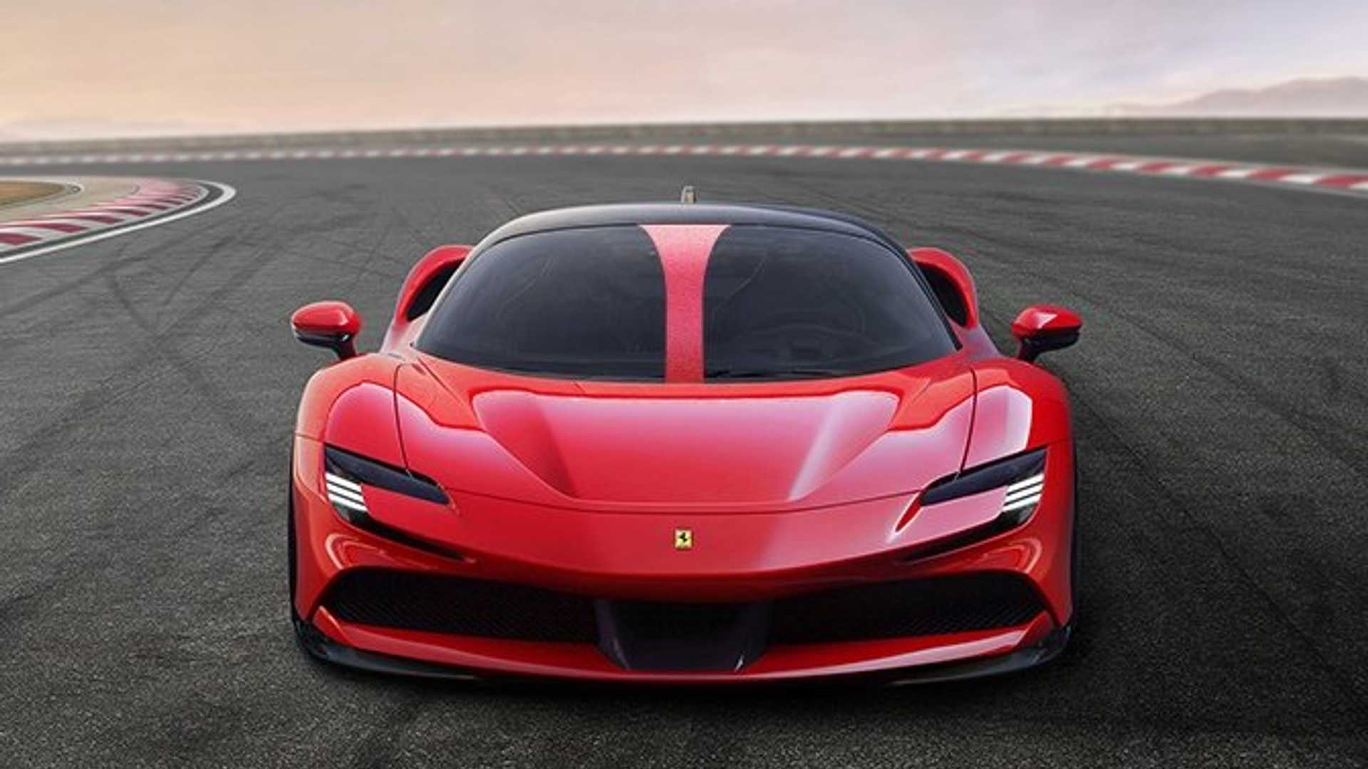 Ferrari Patent Shows F1 Derived Halo For Road Cars
