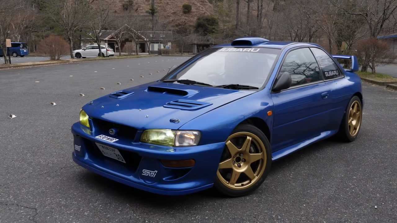 Subaru Impreza Rally Car Converted To Street Use Is An ...