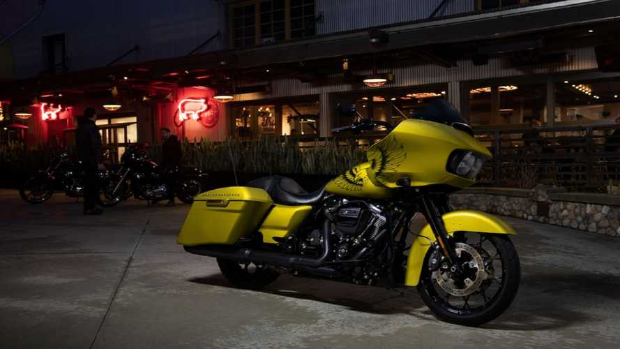 Harley-Davidson Road Glide Special Edition Eagle Eye Yellow