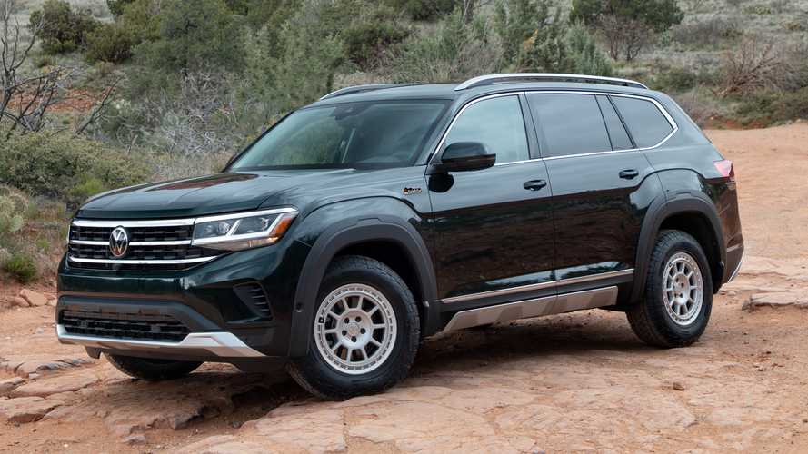 2021 VW Atlas Gets Basecamp Accessories Inspired By Overland Concept