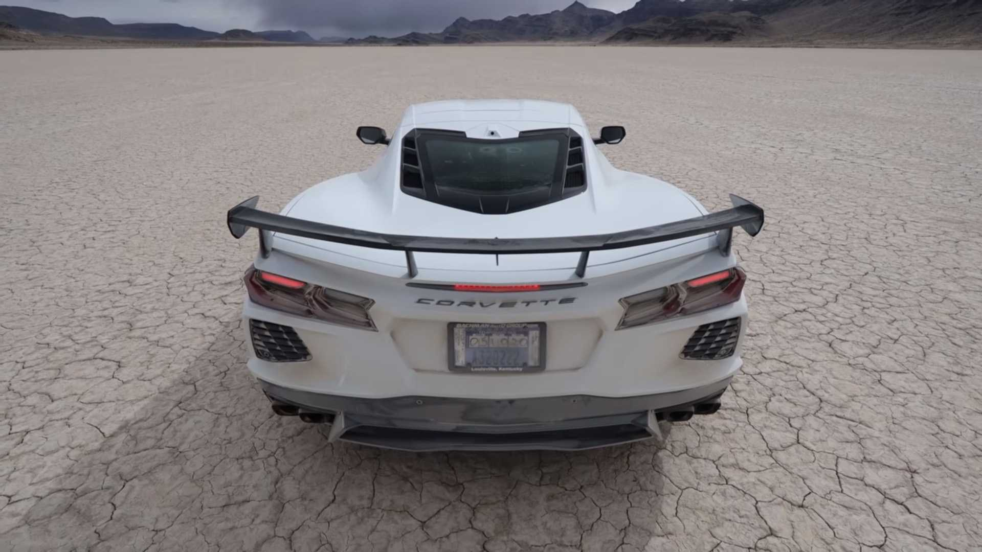 See 2020 Corvette Owner Test Top Speed On Dry Lake Bed