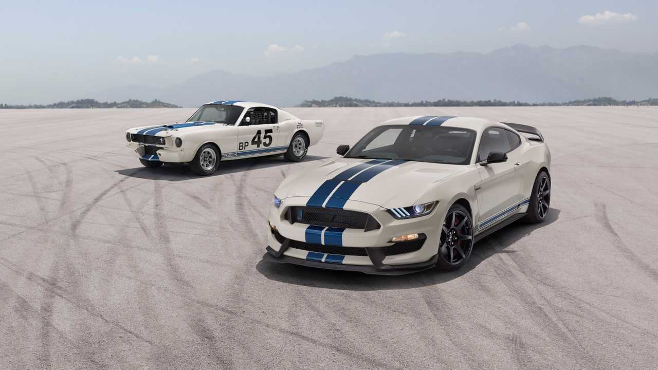 Ford Mustang Shelby GT350/GT350R Heritage Edition