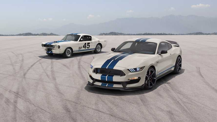 Shelby Celebrates 55 Years Of The GT350 With Heritage Edition Pkg