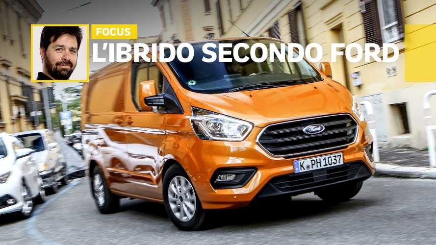 Ford Transit Custom Plug-in Hybrid, come funziona e quando serve