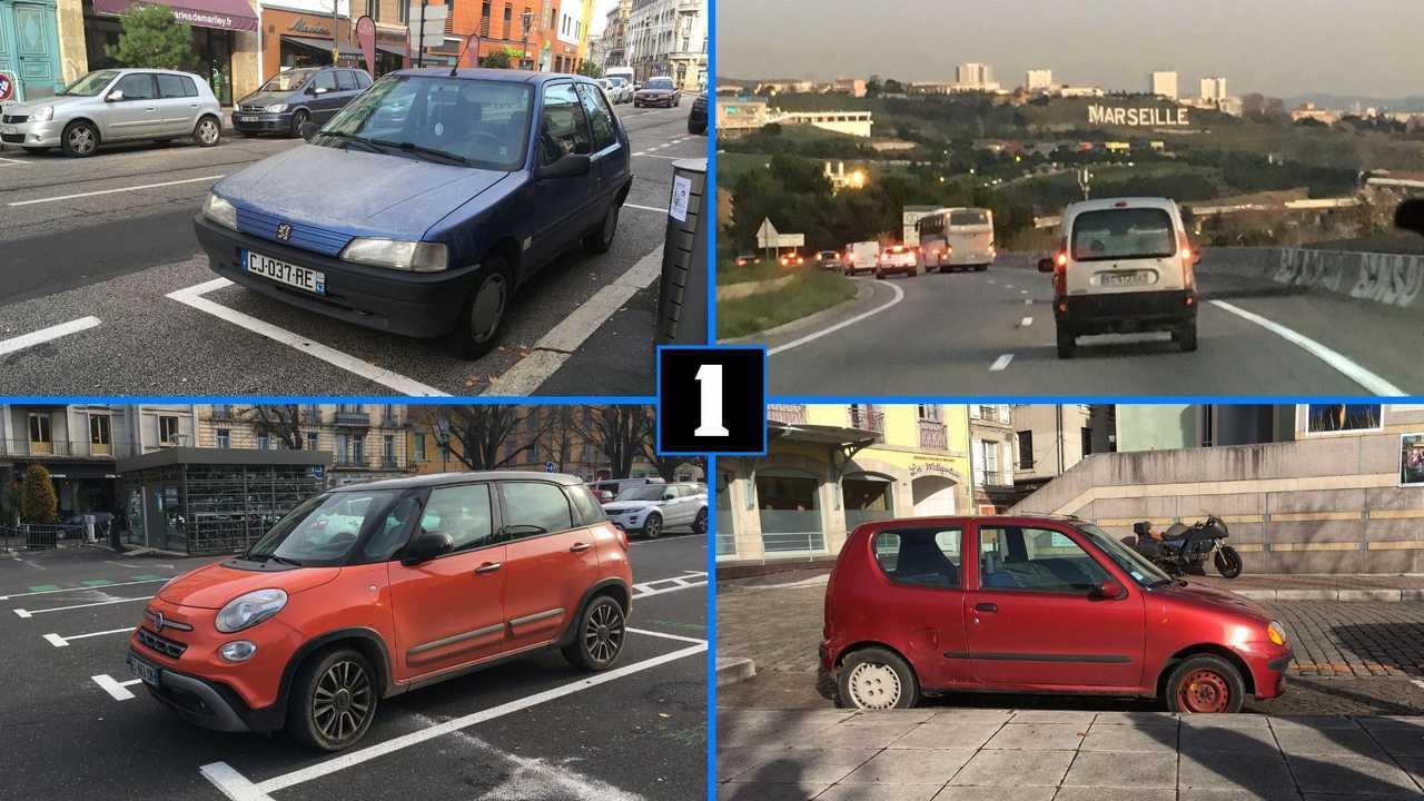 Carspotting Lyon - Marseille