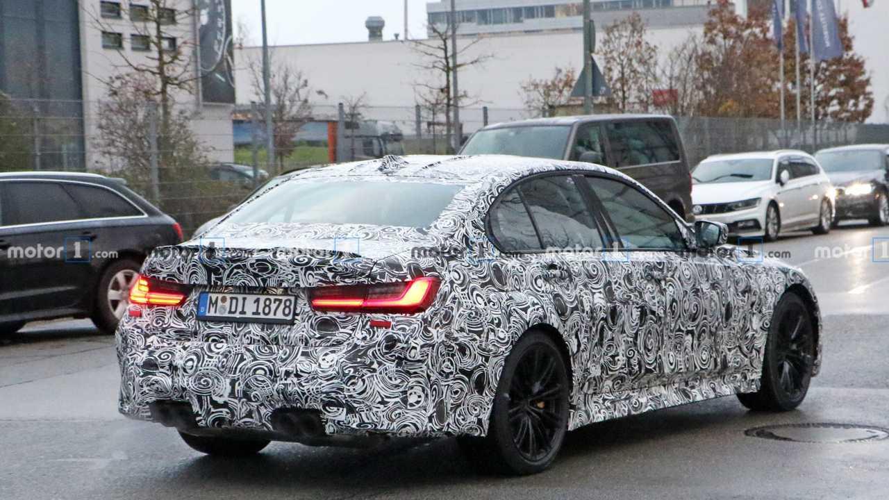 2020 BMW M3 casus fotoğraf