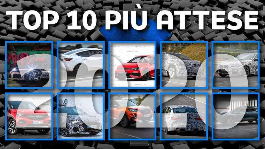 Le 10 nuove auto più attese del 2020