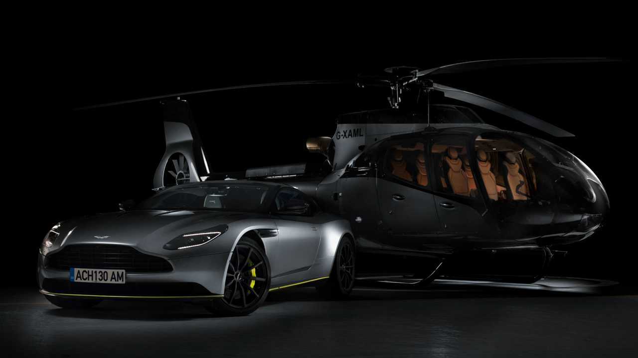 Aston Martin Teams Up With Airbus To Launch A New Helicopter
