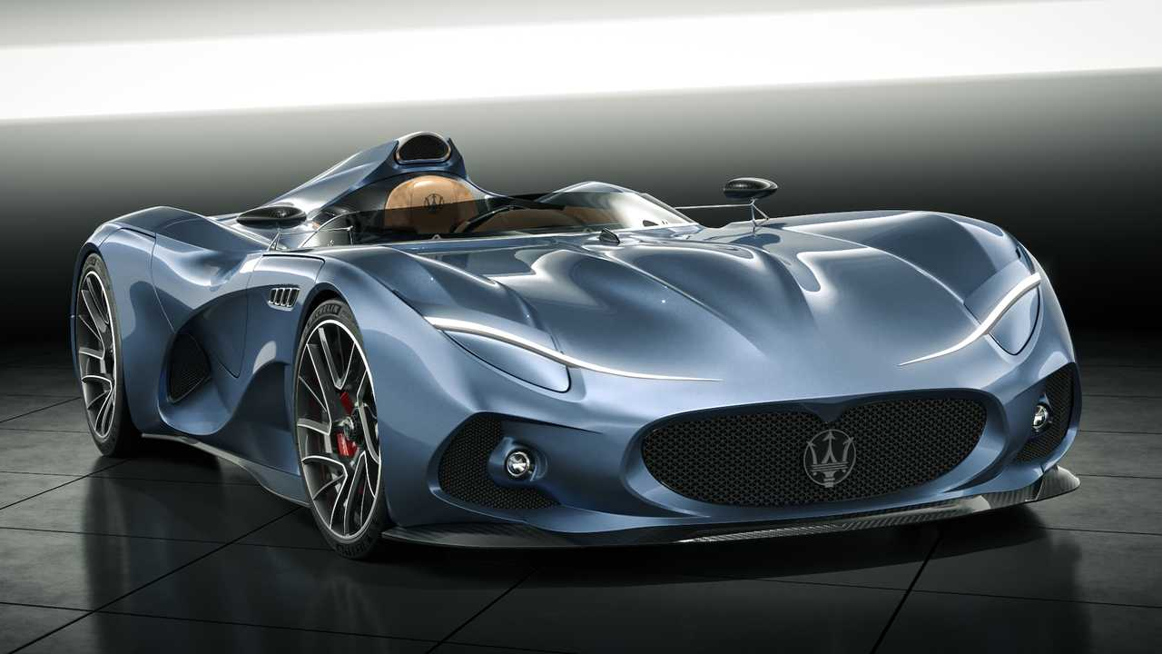 Render Maserati MilleMiglia Concept