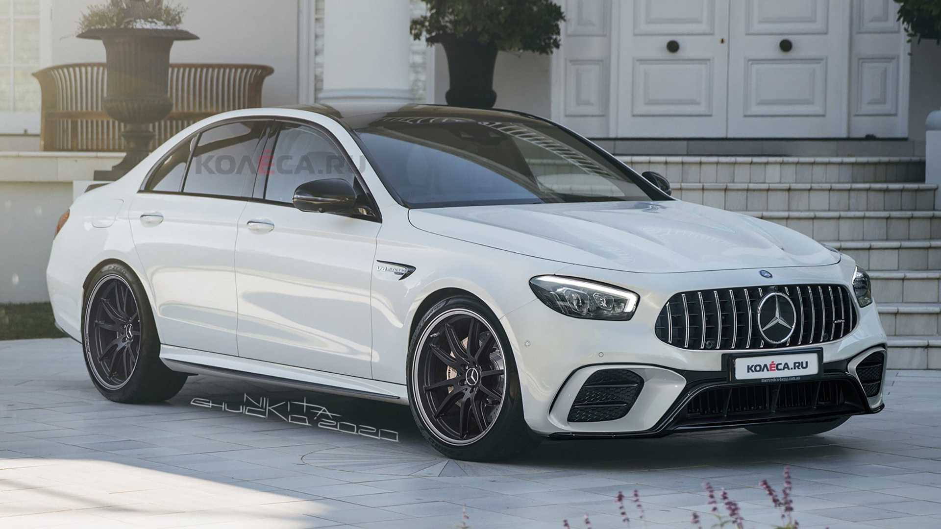 2021 Mercedes-AMG E63 Leaked Images Lead To Realistic ...