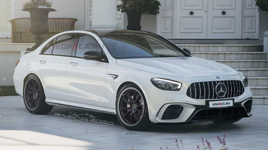 2021 Mercedes-AMG E63 leaked images lead to realistic rendering