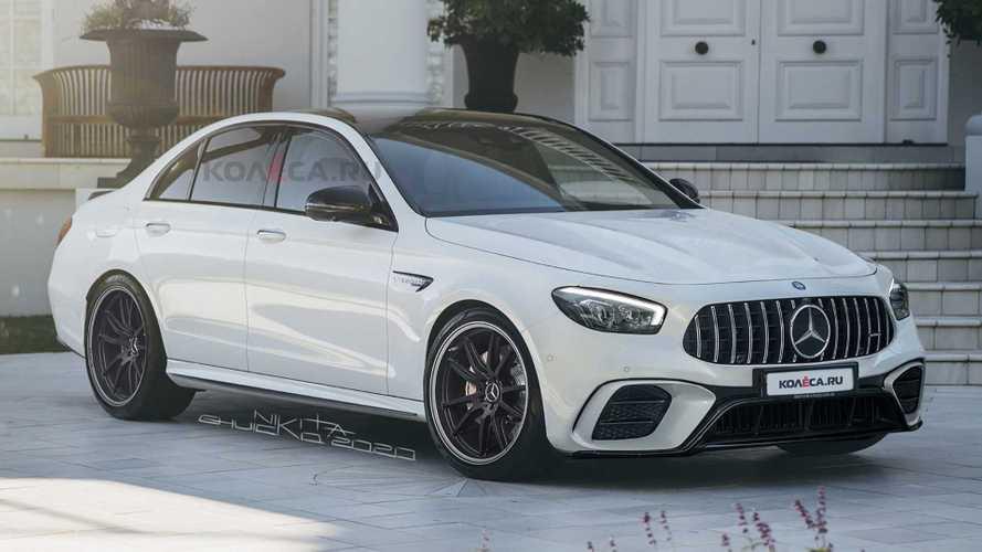 2021 Mercedes-AMG E63'e gerçekçi tasarım yorumu