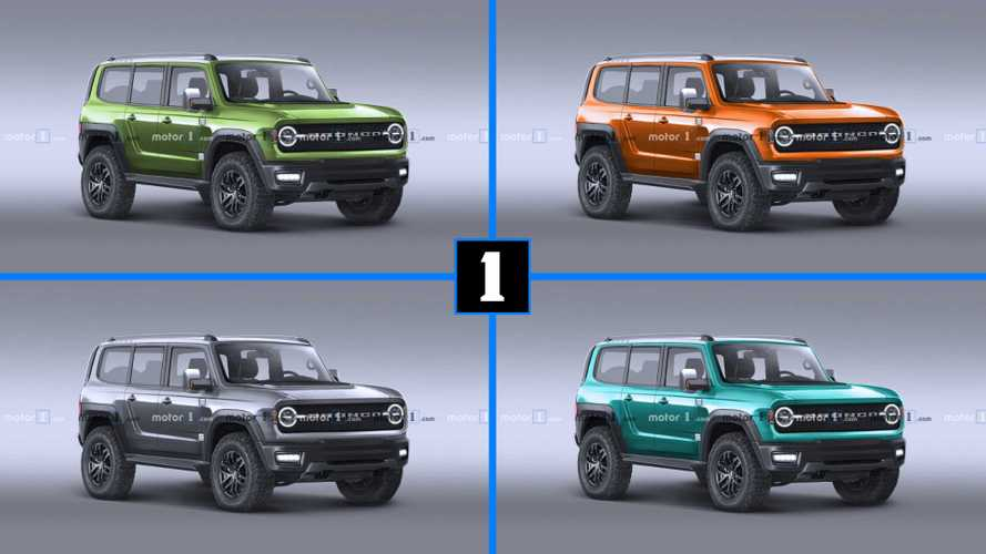Ford Bronco'ya rengarenk tasarım yorumları
