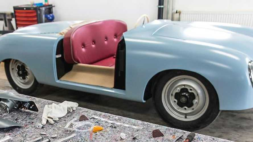 Porsche 356 Roadster No1 brought 'back to life'