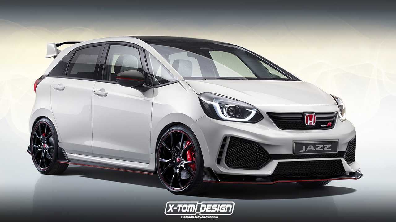 2020 Honda Fit Type R rendering