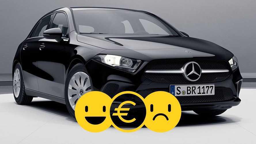 Mercedes Classe A à 295 €/mois