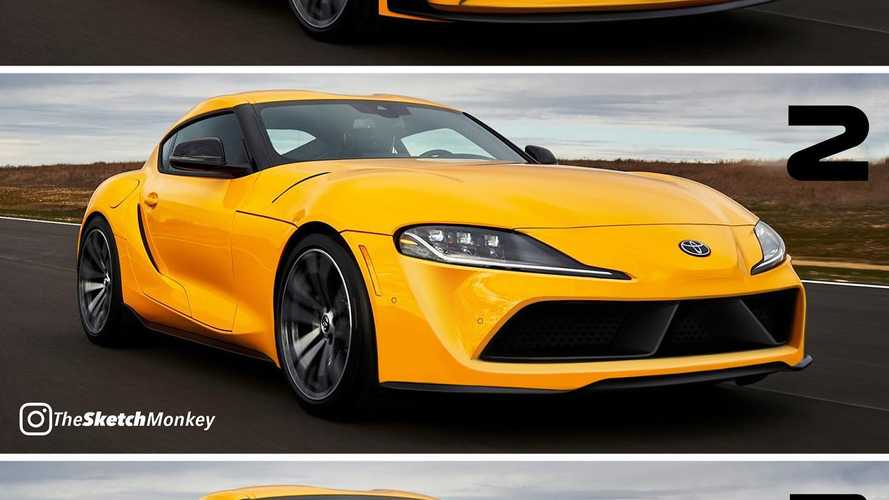 2021 Toyota Supra 4-Cylinder Rendered With Distinctive Designs