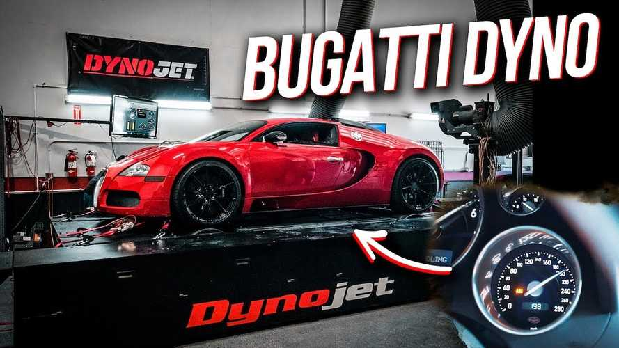 Bugatti Veyron hits the dyno to reveal impressive horsepower