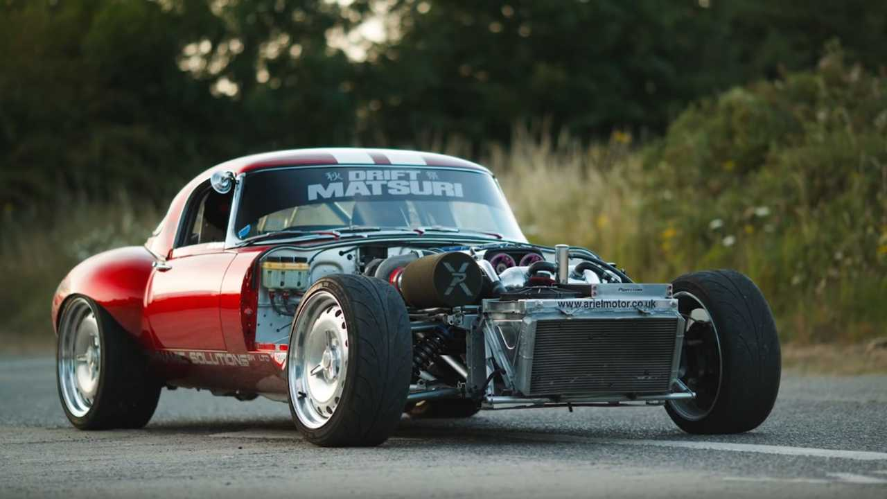 This Jaguar E-Type Drift Car Packs A 1JZ Surprise