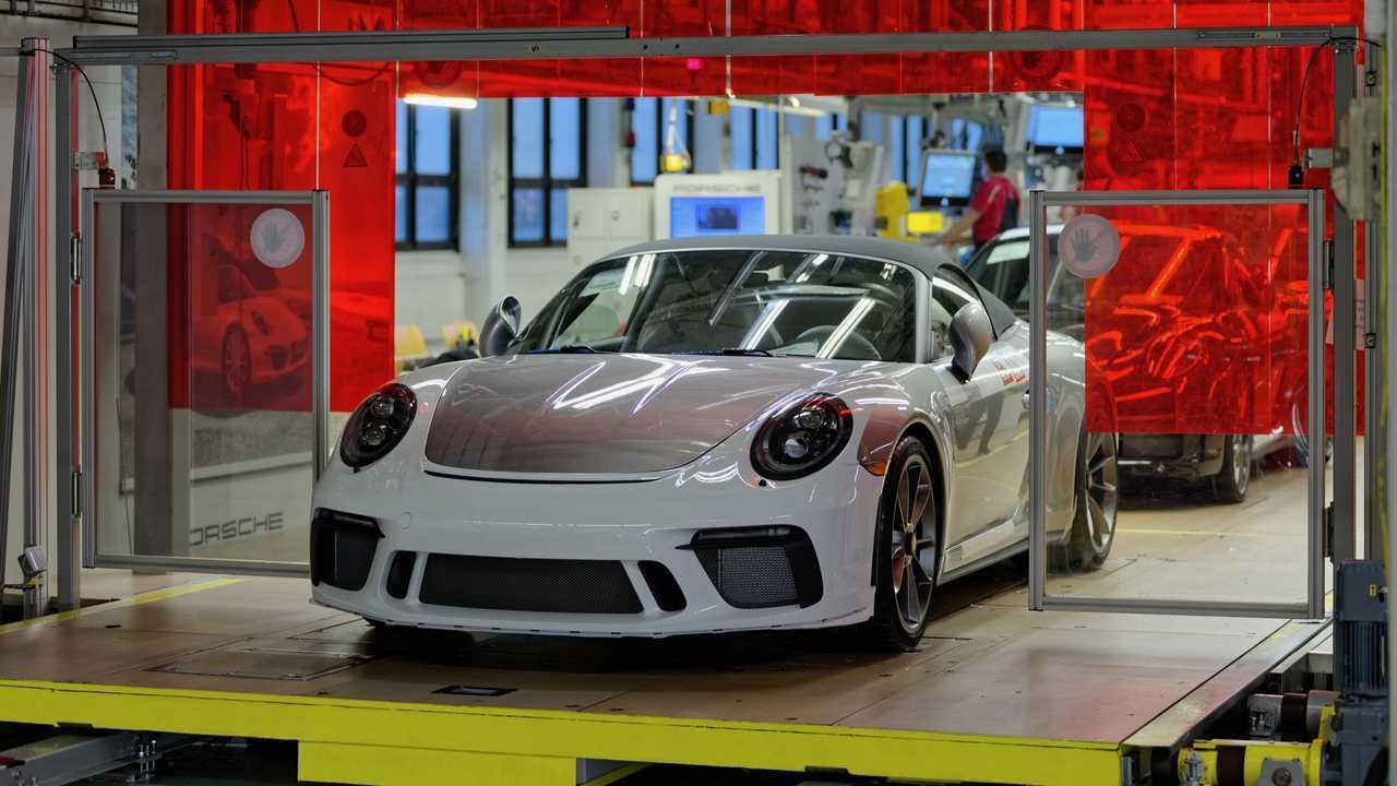 Porsche 911 Speester ultima 991