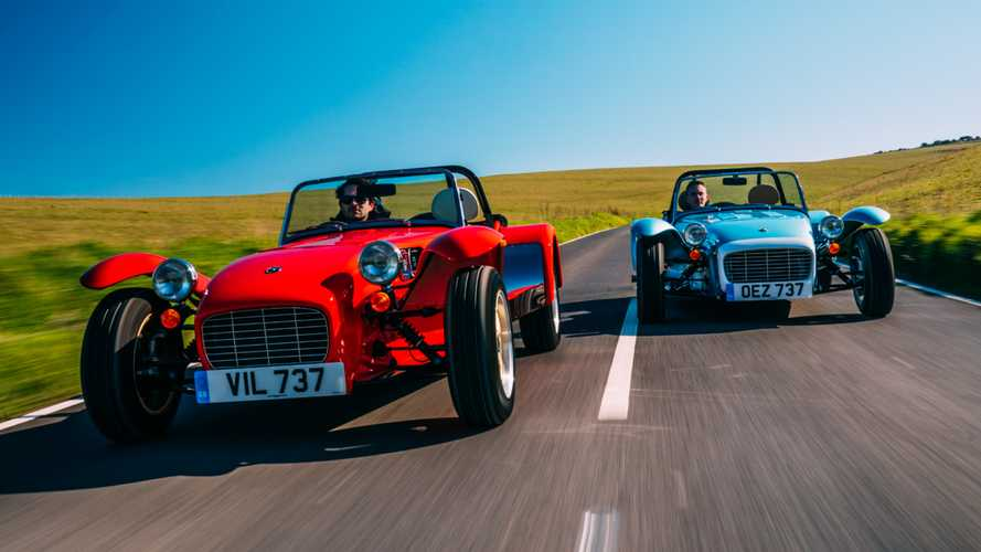 "Caterham launches ""retro-inspired"" Super Seven 1600"