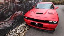 Dodge Challenger SRT Hellcat von Vilner