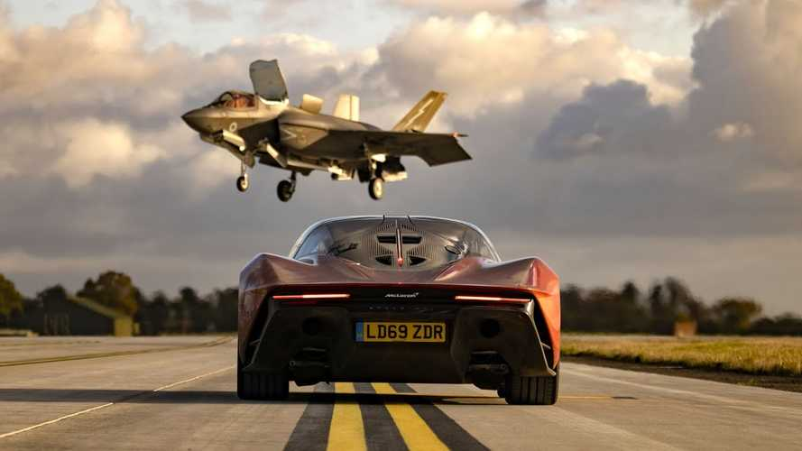 Top Gear Drag Races McLaren Speedtail Against… An F-35 Jet?
