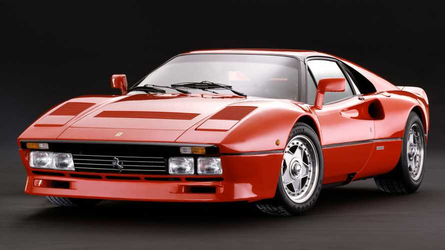 Ferrari 288 GTO historical pictures